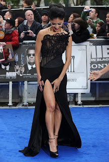 Nicole Scherzinger at premiere of Men in Black 3 in London gallery