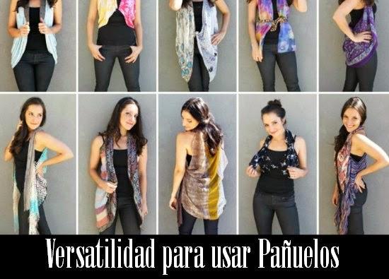panuelos, scarf, accesorios, tutoriales, pañuelos, posiciones