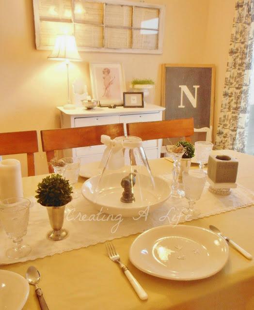 Messy Dining Room