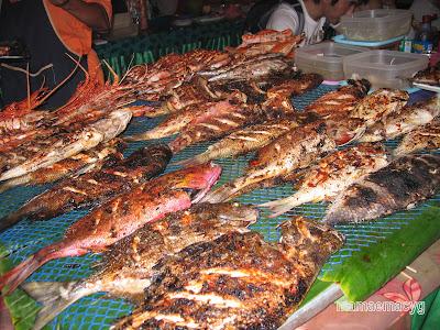 Ikan Bakar Kota Kinabalu