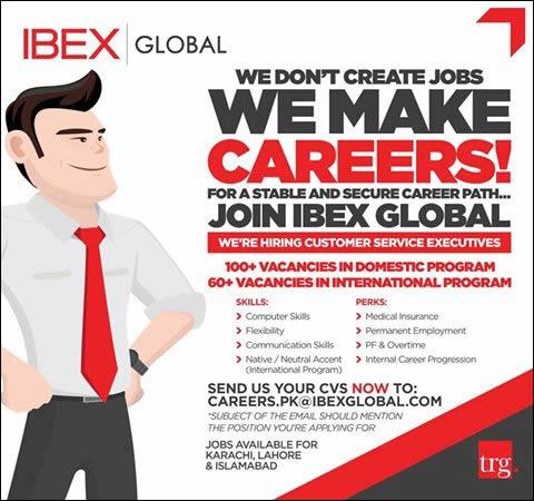 IBEX Global Jobs in Pakistan