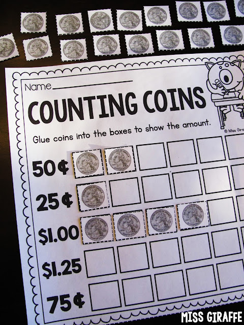Counting quarters and other fun counting money activities for kids that are so fun and hands on