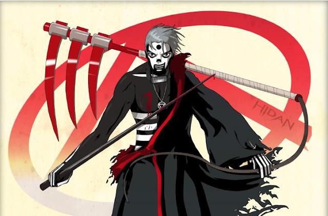 Hidan ( Naruto Shippuden ) - Top Immortal Anime Characters