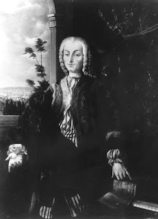 The only known portrait of Bartolomeo Cristofori