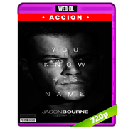 Jason Bourne (2016) WEB-DL 720p Audio Ingles 5.1 Subtitulada