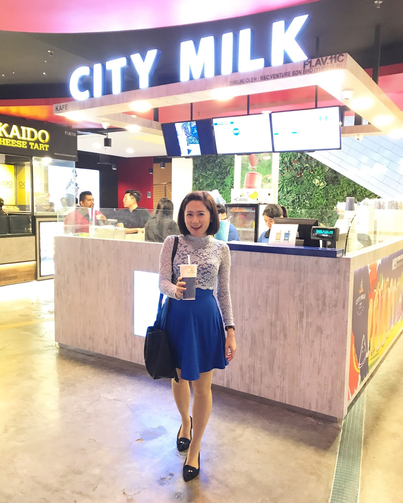 City Milk Malaysia - Taiwan's Famous Papaya Milk Drink @ Sunway Pyramid