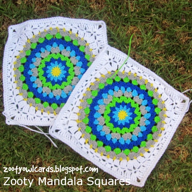 mandala in a square
