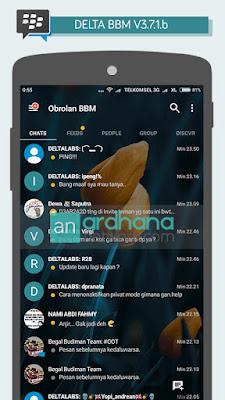 Delta BBM V3.7.1b - BBM Android V3.0.1.25