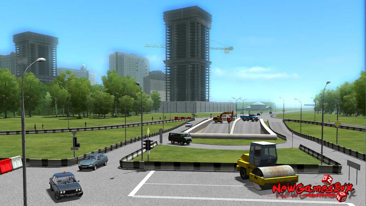 how to download city car driving for free