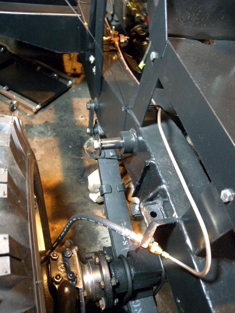 1960 Land Rover Restoration Automec Brake Line Kit Part 1