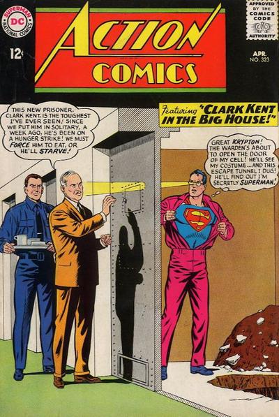 Episode #381 Part III: Superman Comic Book Cover Dated April 1965: Action Comics #323!