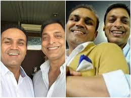 Virender Sehwag Shoaib Akhtar Bromance Is Winning The Hearts Of Indo Pak Fans Jpeg