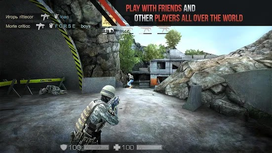 Standoff Multiplayer Apk+Data Free on Android Game Download