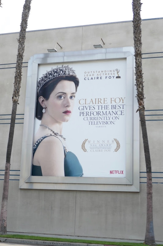 Claire Foy Crown 2018 Emmy nominee billboard