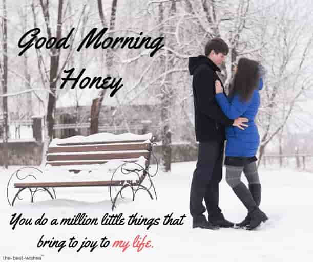 good morning honey quotes for him