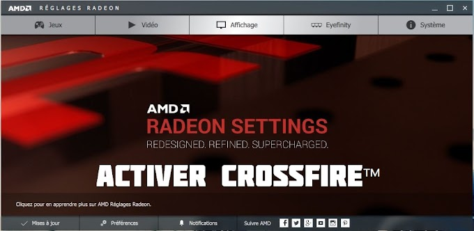 [Tutoriel] R9 Activer sont crossfire sous amd radeon settings (Disabled crossfire available)