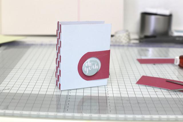 Buttonverschluß Minibook