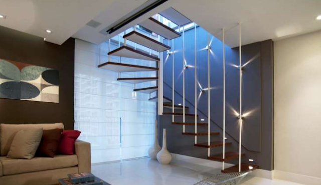 tangga rumah tinggi 4 meter