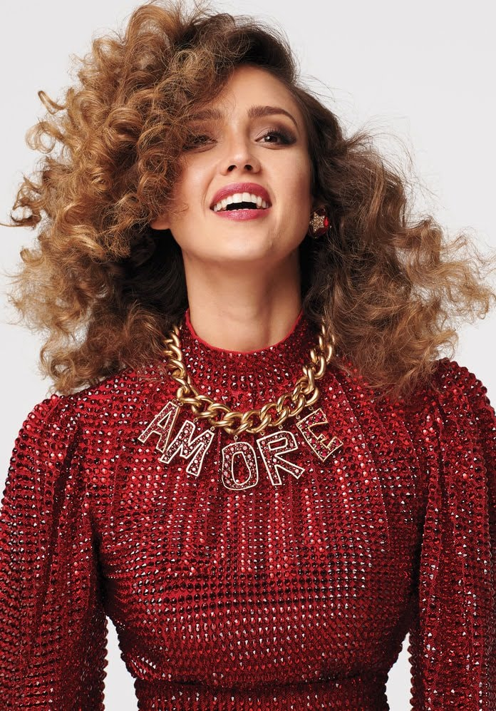 Jessica Alba appeared in the InStyle Magazine