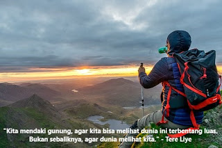 Kata Kata Bijak Pendaki Gunung Cikimm Com