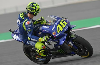 Wallpaper foto Rossi Motogp 2018