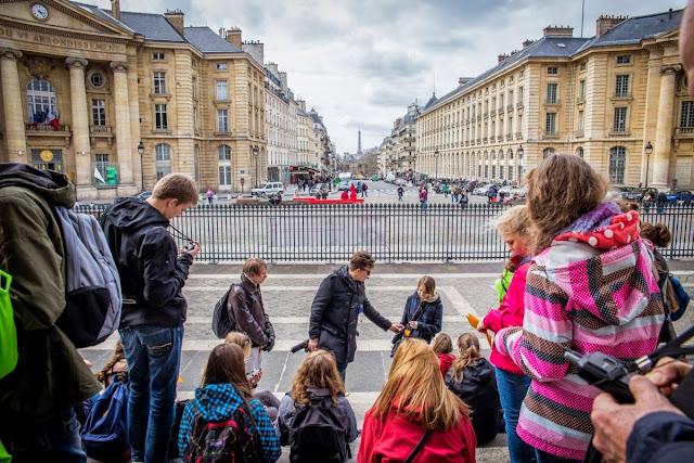 Zwiedzanie Paryża z dziećmi