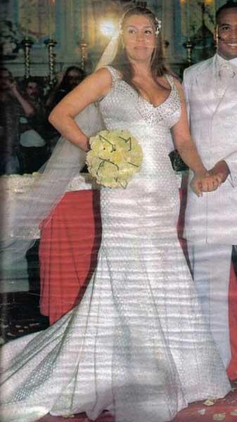 Vestido de noiva Ronaldo Esper, Simony