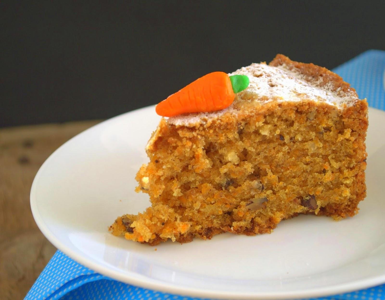 Carrot Walnut Cake Calories