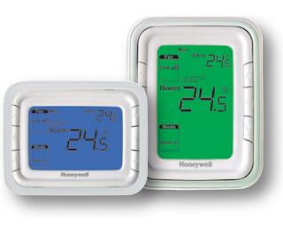 Jual Honeywell T-6861 H2 WN dan T-6861 V2 WN Digital Fan Coil Thermostat