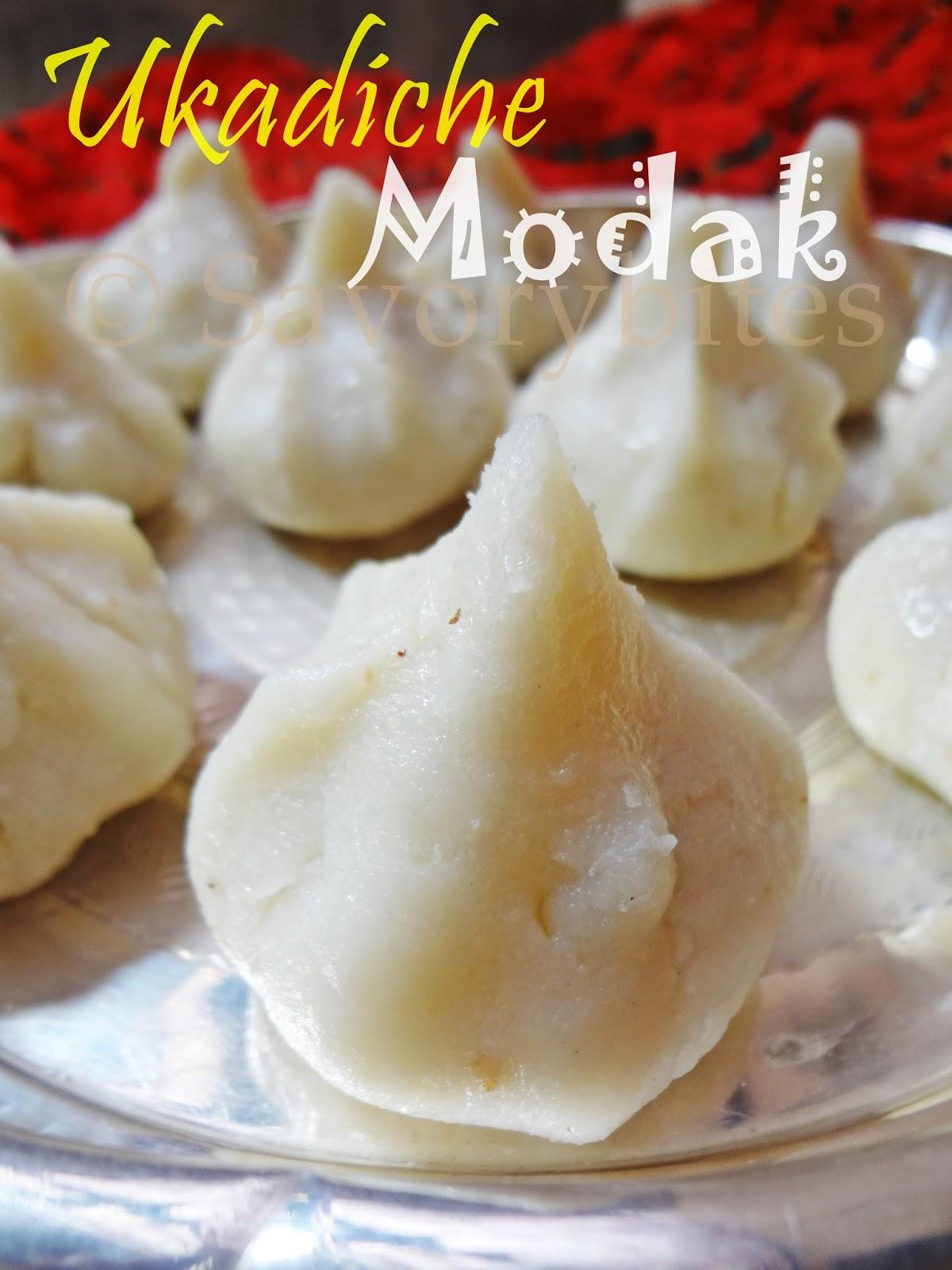 festive sweet Ganesh chaturthi Ukadiche modak Indian maharashtrian
