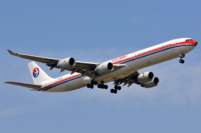 China Eastern Airlines Airbus A340-600