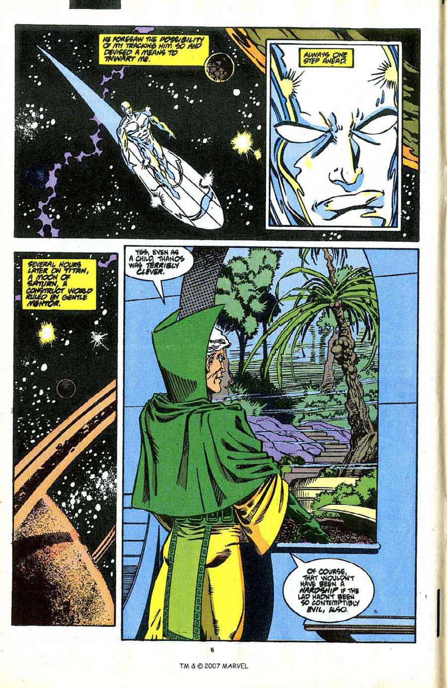 Read online Silver Surfer (1987) comic -  Issue #37 - 6