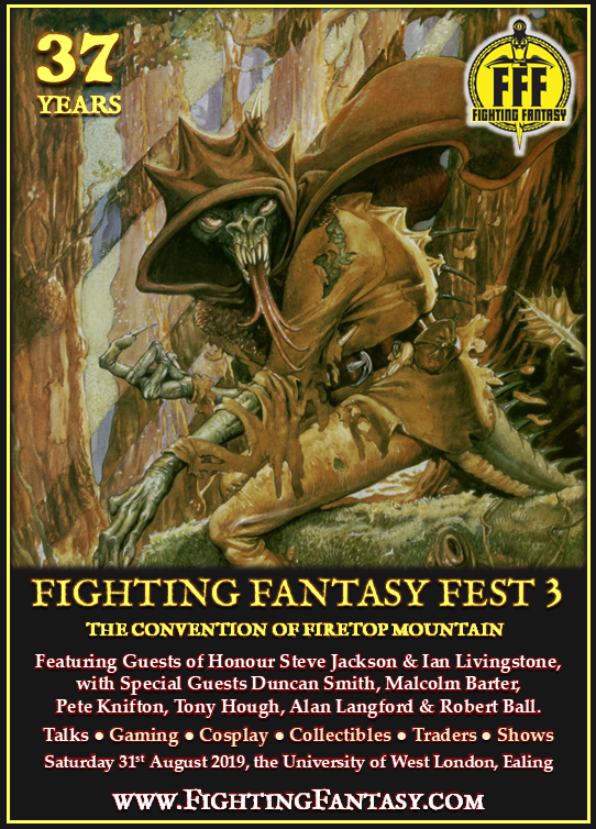 Fighting Fantasy Fest 3