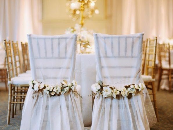 {Wedding Ideas} : 15 Ideas Wedding Chair Decoration