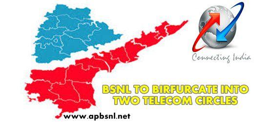 BSNL Andhrapradesh and BSNL Telagana