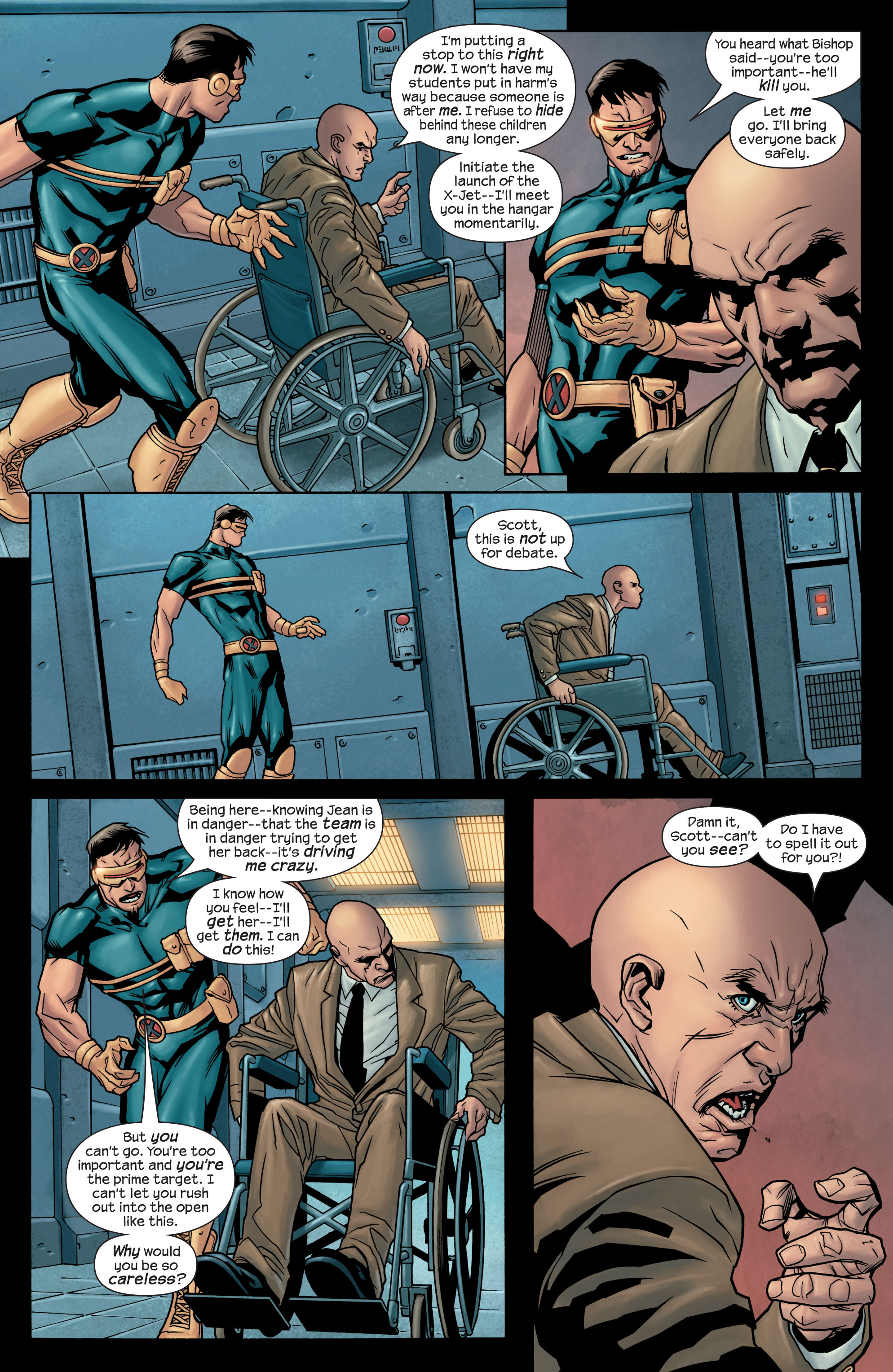 Read online Ultimate X-Men comic -  Issue #77 - 21