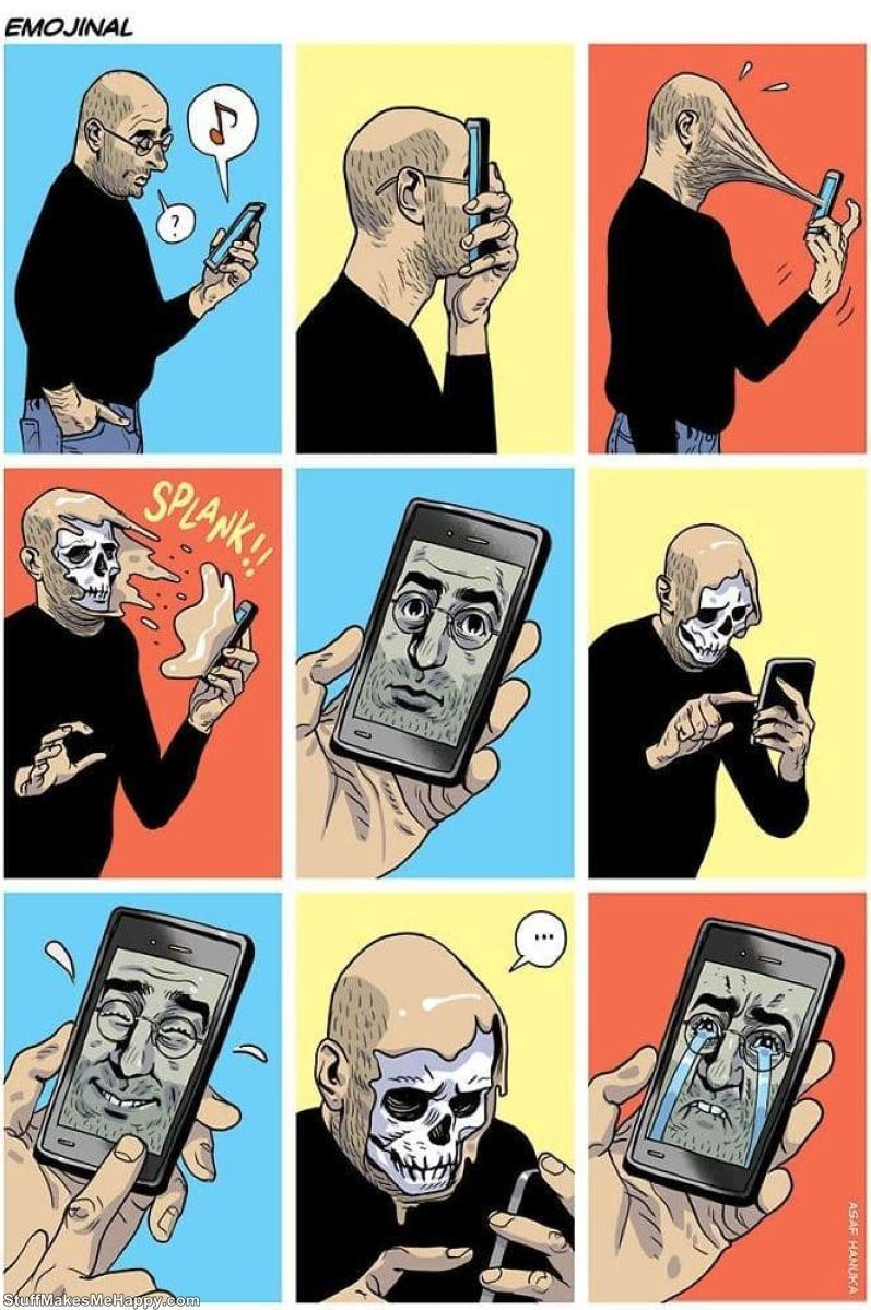 Satirical Illustrations Of Today's Problems by Israeli Artist Asaf Hanuka