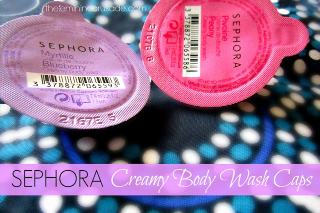 Sephora Creamy Body Wash Caps
