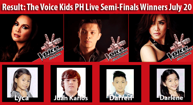 Watch Replay: How Lyca, Juan Karlo, Darlene and Darren Entered The Voice Kids Finals