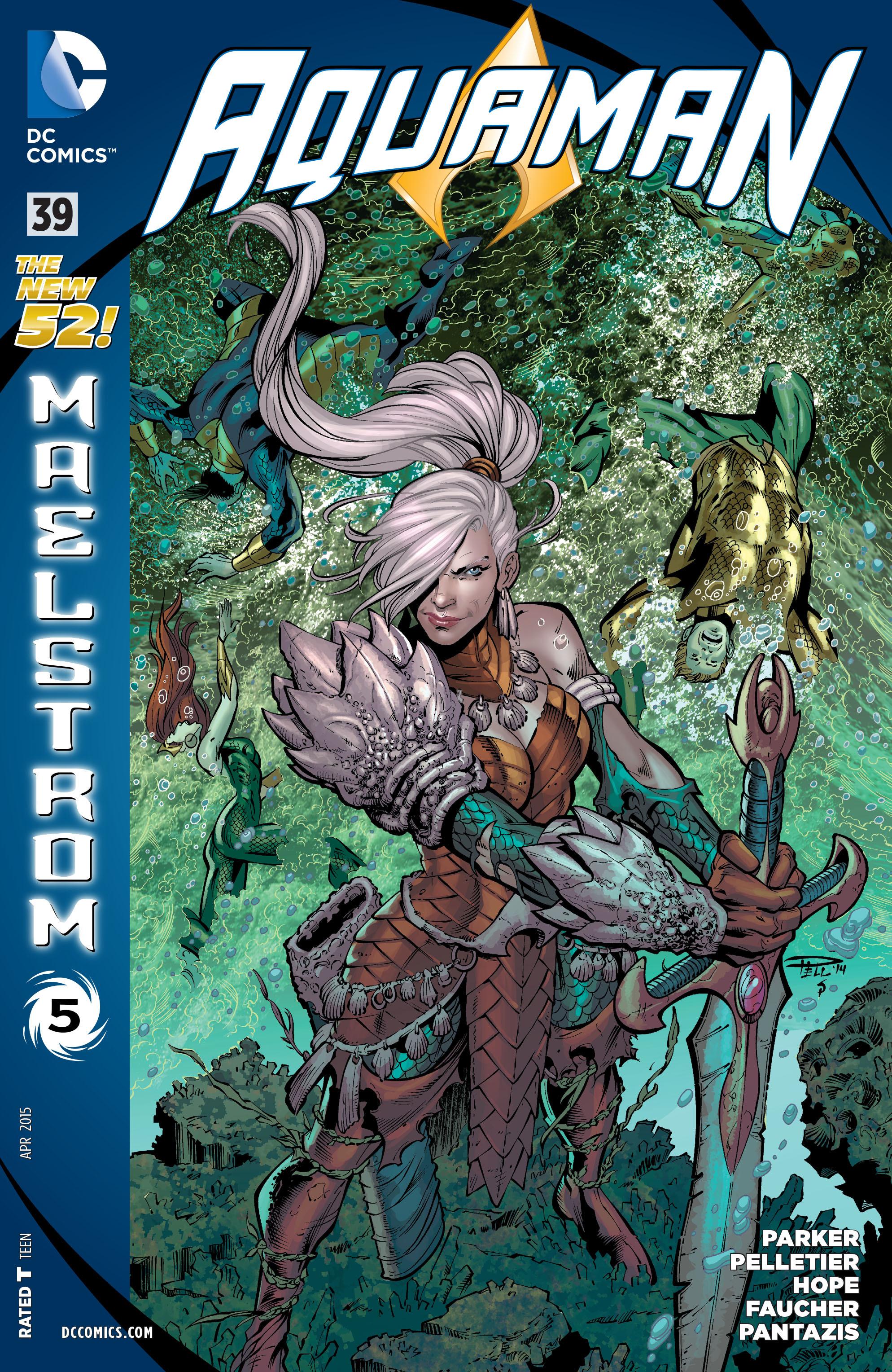 Read online Aquaman (2011) comic -  Issue #39 - 1