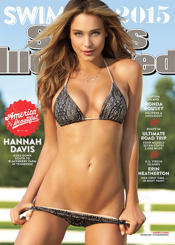 Hannah Davis Is the 2015 Sports Illustrated Swimsuit Issue Cover Girl!