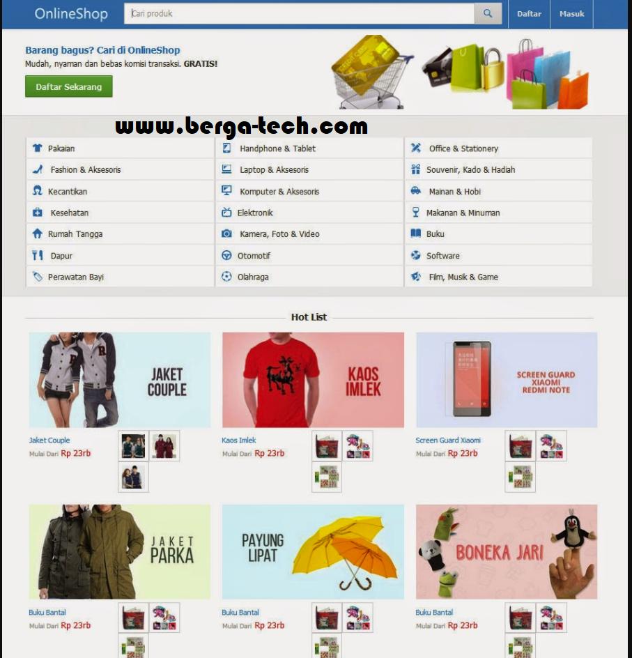 Source Code Web Toko Online Mirip Seperti E-Commerce Tokopedia ... cf72a26f0c