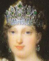 Empress Marie Louise France Emerald Diadem Tiara Nitot