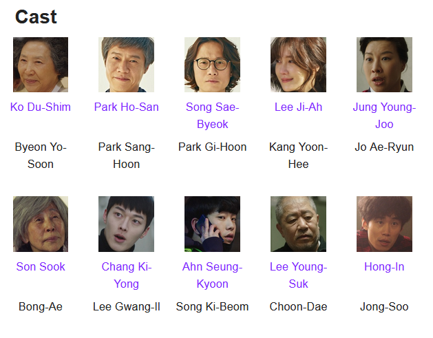 My Mister K-Drama Cast