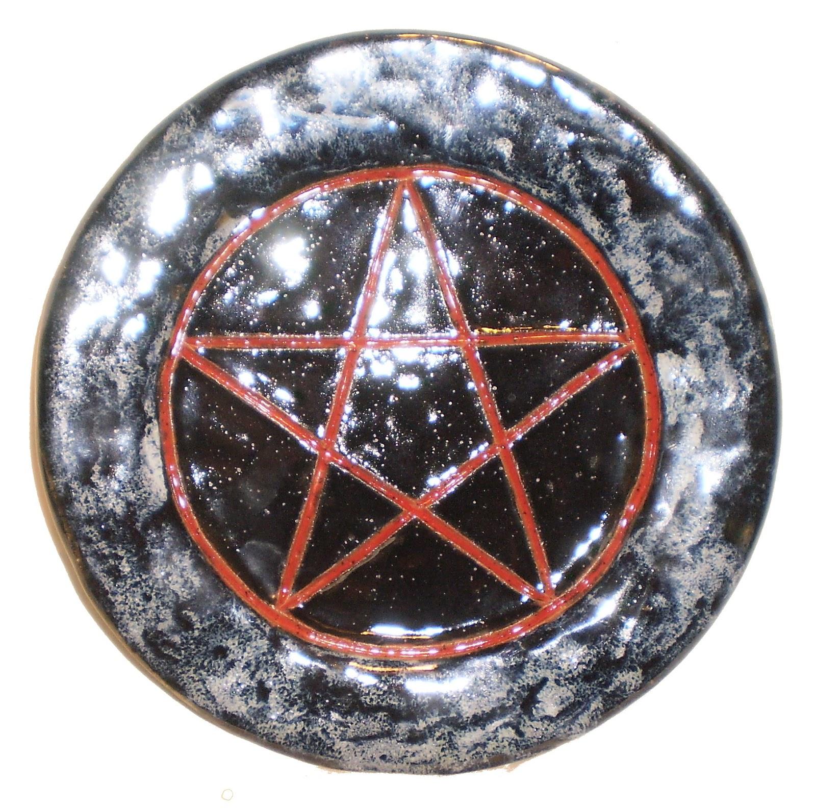 Aberrant Ceramics: Pentagram, Triskelion, Necronomicon Gate