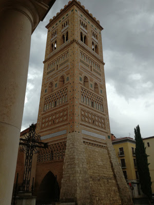 Torre mudéjar de Teruel. Foto: T.R.