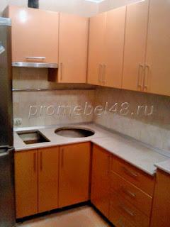 Маленькая кухня на заказ в Липецке