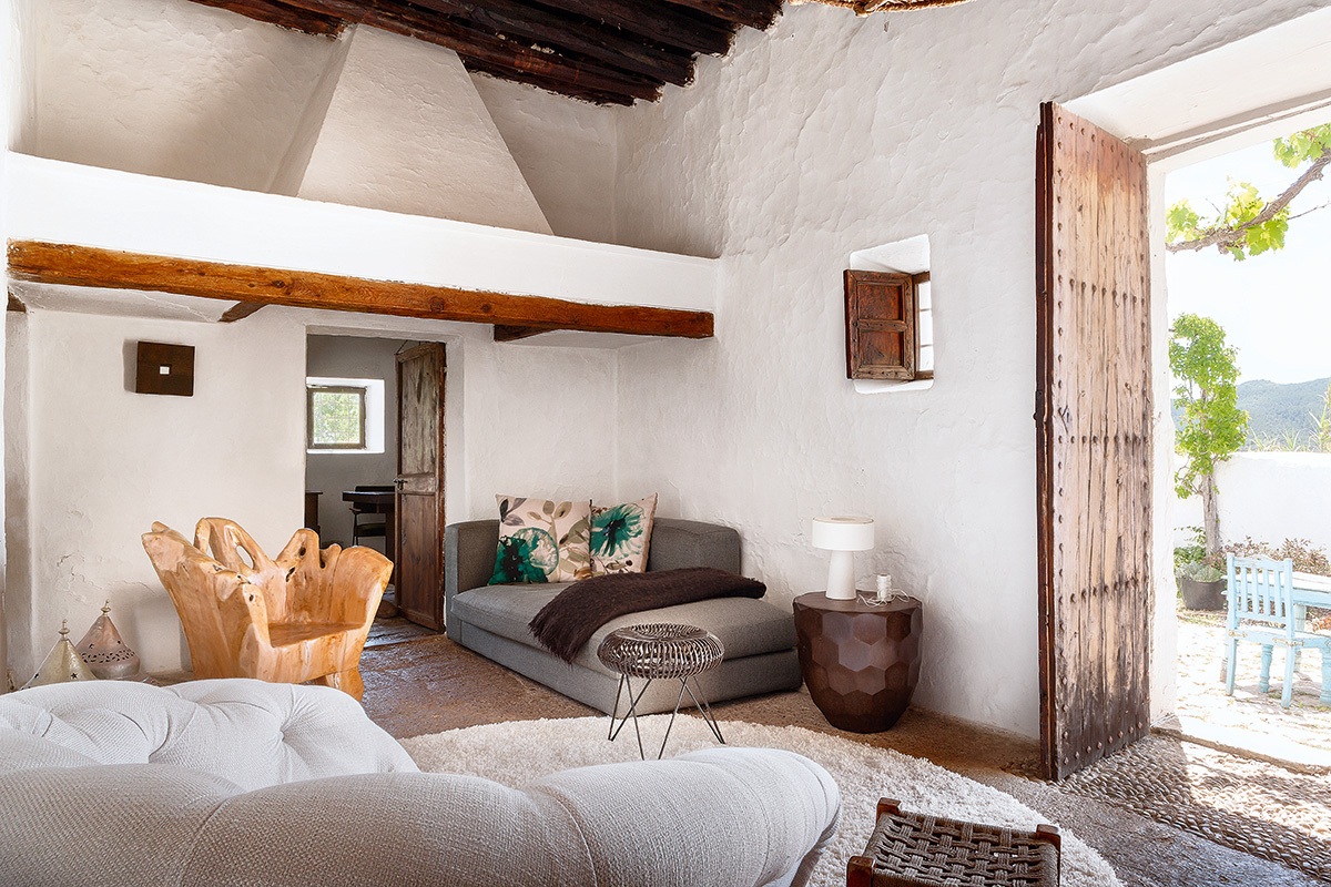 Decordemon a 400 year old home on the island of ibiza - Decoracion vintage de interiores ...