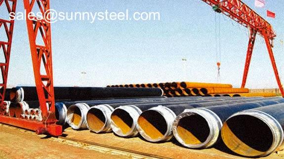 Welded steel pipe: Anti-corrosion pipe