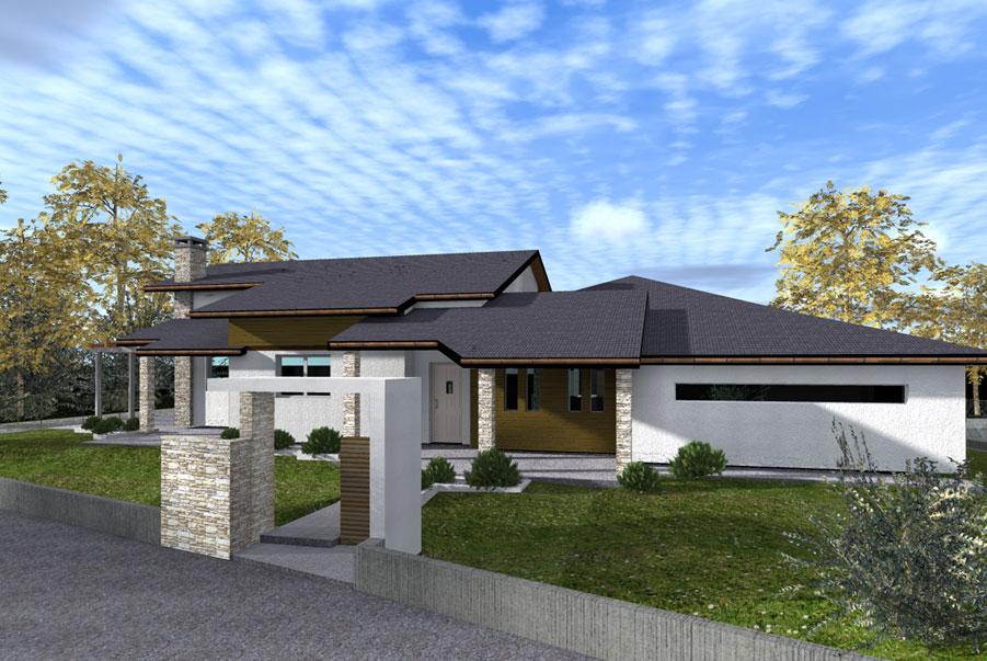 Studio randetti progettazione design for Nuove case a un piano